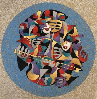 Cello I 2006 Limited Edition Print by Anatole Krasnyansky