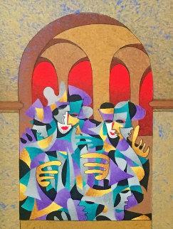 Periwinkle AP   2004 Limited Edition Print by Anatole Krasnyansky