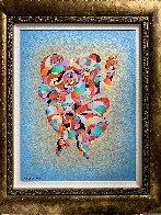 Twin Dancers 2011 Embellished Limited Edition Print by Anatole Krasnyansky - 2