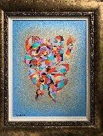 Twin Dancers 2011 Embellished Limited Edition Print by Anatole Krasnyansky - 1