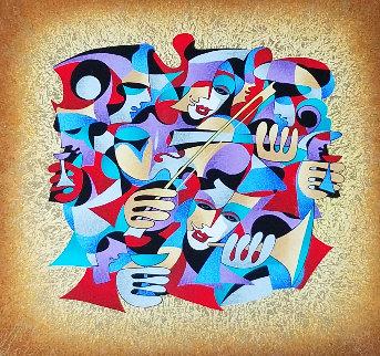 Violin 2006 Limited Edition Print by Anatole Krasnyansky