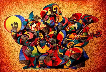 Street Quartet II 2012 Limited Edition Print by Anatole Krasnyansky