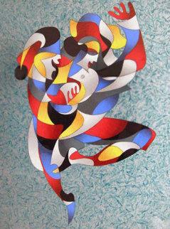 Dancing a Jig II 2003 Limited Edition Print by Anatole Krasnyansky