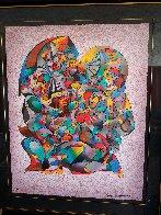 Love Song 1990 Limited Edition Print by Anatole Krasnyansky - 10