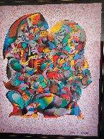 Love Song 1990 Limited Edition Print by Anatole Krasnyansky - 11