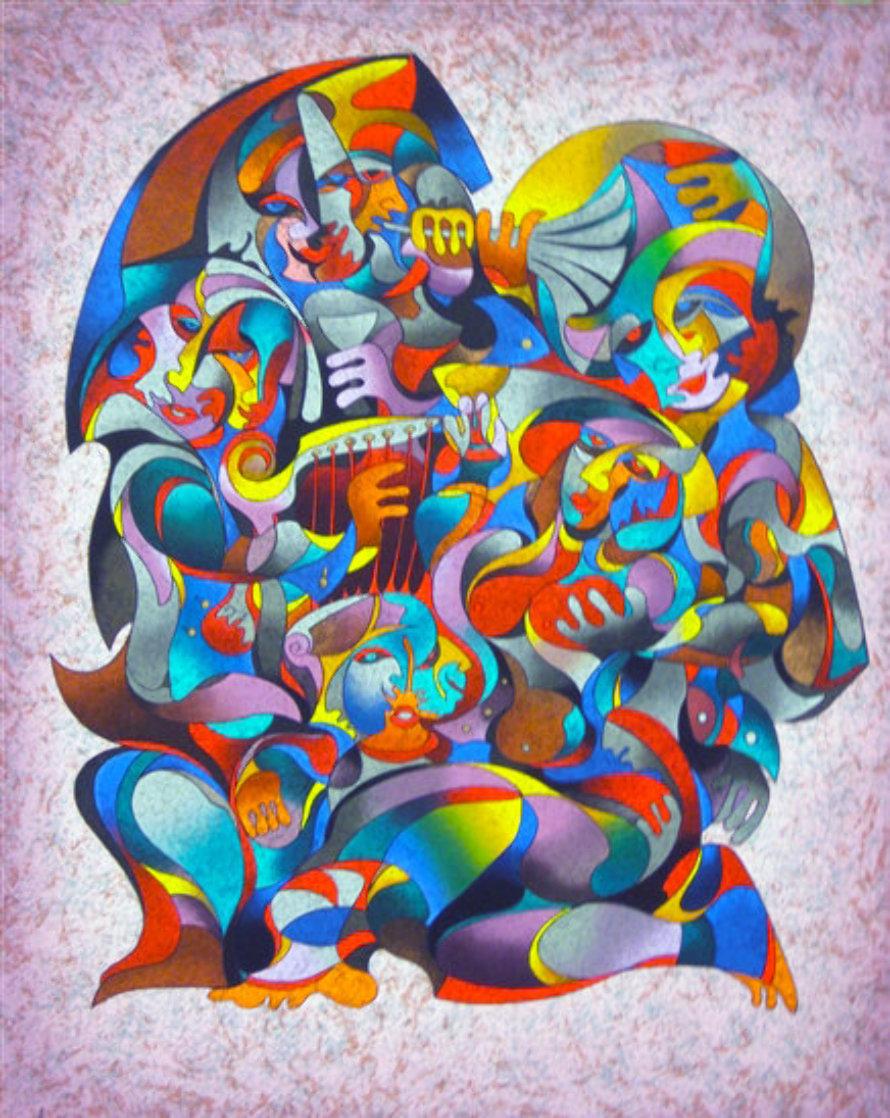 Love Song 1990 Limited Edition Print by Anatole Krasnyansky