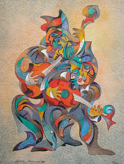 Seranade 1988 Limited Edition Print by Anatole Krasnyansky
