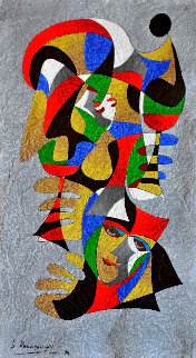 Here's to You 1994 36x26 Original Painting - Anatole Krasnyansky