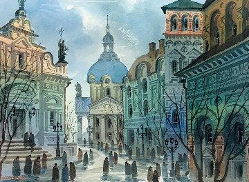 Street of Old Rome Limited Edition Print by Anatole Krasnyansky