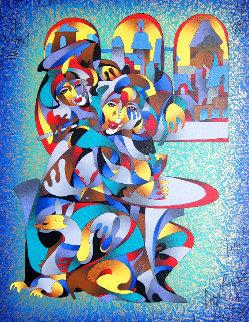 Cafe II AP 2007 Limited Edition Print - Anatole Krasnyansky