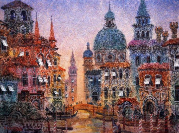 Sunset in Venice Limited Edition Print - Anatole Krasnyansky