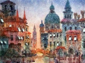 Sunset in Venice Limited Edition Print by Anatole Krasnyansky
