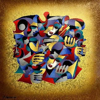 Violin AP 2006 Limited Edition Print by Anatole Krasnyansky
