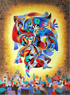 Bluebird Limited Edition Print - Anatole Krasnyansky