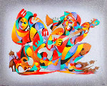 Song of Scaramouches Limited Edition Print - Anatole Krasnyansky