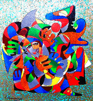 Sound of Jazz 1994 Limited Edition Print - Anatole Krasnyansky
