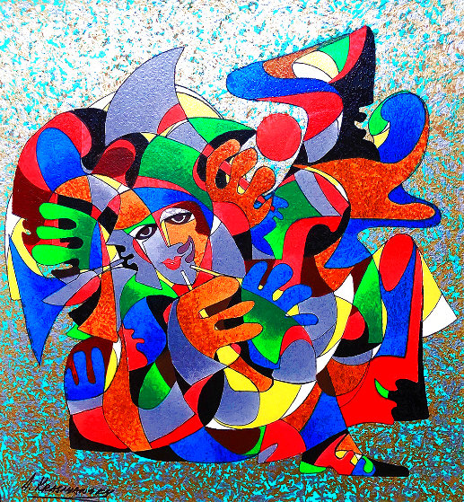 Sound of Jazz 1994 Limited Edition Print by Anatole Krasnyansky