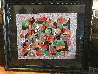 Untitled Painting 1994 38x44 Super Huge Original Painting by Anatole Krasnyansky - 2