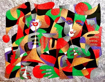 Untitled Painting 1994 38x44 Super Huge Original Painting - Anatole Krasnyansky