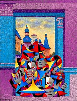 Chambered Musicians 2007 Limited Edition Print - Anatole Krasnyansky