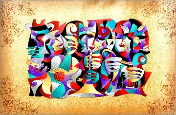 Trio I 2004 Embellished Limited Edition Print - Anatole Krasnyansky