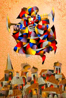 Celebration II 2004 Embellished Limited Edition Print - Anatole Krasnyansky