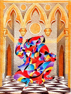 Toast For the Artist 2008 Works on Paper (not prints) - Anatole Krasnyansky