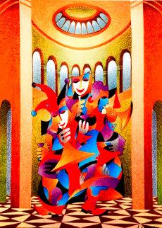 Trumpet Conversation 2011 Limited Edition Print - Anatole Krasnyansky