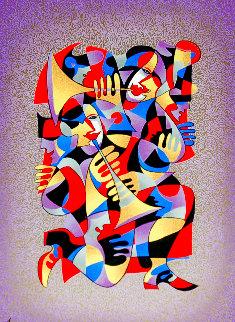 Trumpet Duet 2000 Limited Edition Print - Anatole Krasnyansky
