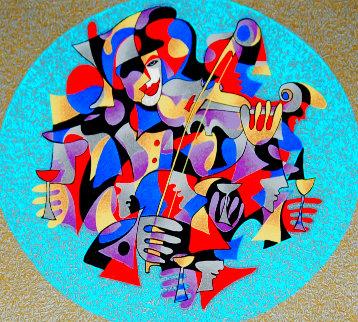 Violin Solo 2000 Limited Edition Print - Anatole Krasnyansky