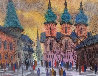 Old Cathedral Watercolor 17x23 Watercolor by Anatole Krasnyansky - 0