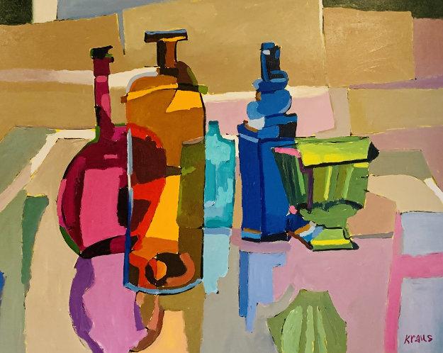 Morning Inspiration 69x76 Original Painting by Harold Kraus