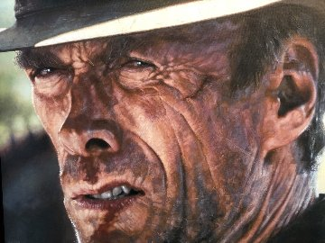 The Good Clint Eastwood 28x45 Limited Edition Print by Sebastian Kruger