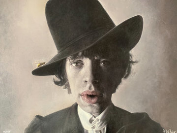 Mick With Wasp 2007 Limited Edition Print by Sebastian Kruger