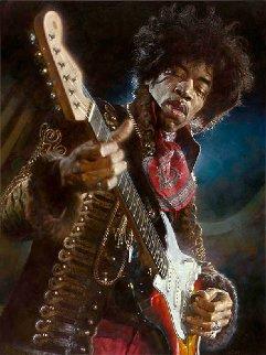 Jimi Hendrix Ap  2006 Limited Edition Print - Sebastian Kruger