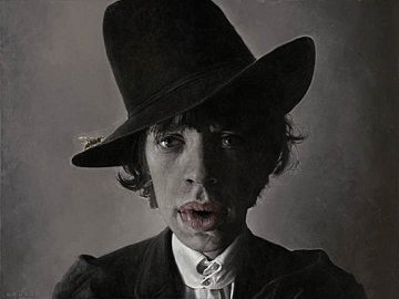 Mick With Wasp Limited Edition Print - Sebastian Kruger