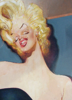 Marilyn 1977 42x31 Original Painting by Sebastian Kruger