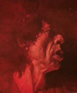 Red Mick 2005 48x41 Original Painting by Sebastian Kruger