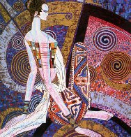 Golden Empress  1990 Limited Edition Print by Shao Kuang Ting - 0