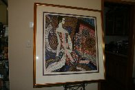 Golden Empress  1990 Limited Edition Print by Shao Kuang Ting - 1