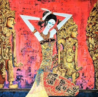 Balinese Beauty 1999 Limited Edition Print by Shao Kuang Ting