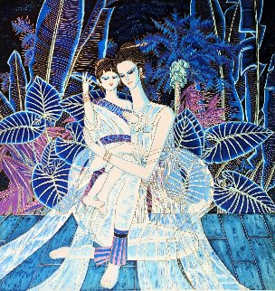 Mother And Daughter AP 1999  Limited Edition Print - Shao Kuang Ting