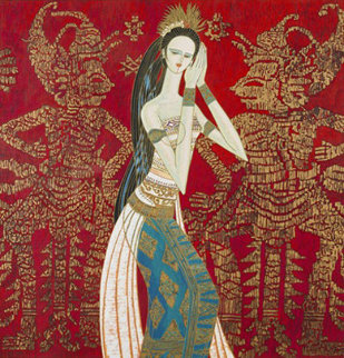 Bali Princess PP Limited Edition Print by Shao Kuang Ting