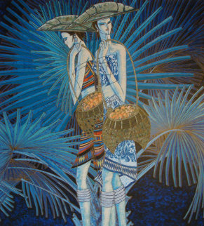 Peaceful World 1990 Limited Edition Print by Shao Kuang Ting