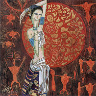 June Bride 1994 Limited Edition Print by Shao Kuang Ting - 0