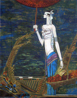 Voyage on the Mei Kong 1989 Limited Edition Print by Shao Kuang Ting