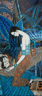 Twins 1987 Limited Edition Print - Shao Kuang Ting