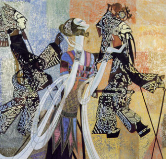 Shadow Play AP 1992 Limited Edition Print by Shao Kuang Ting
