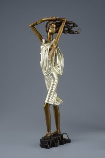 Shadow of Sails Bronze Sculpture 2014 22 c gold Sculpture by Shao Kuang Ting