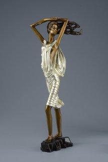 Shadow of Sails Bronze Sculpture 2014 22 c gold Sculpture - Shao Kuang Ting